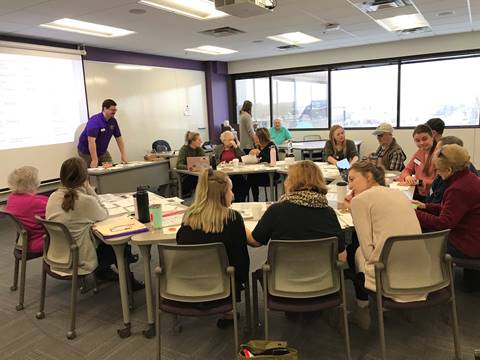 Minnesota Connect Aphasia Now Conversation Group participants